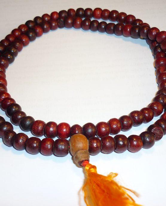 mala yapa rosario tibetano madera