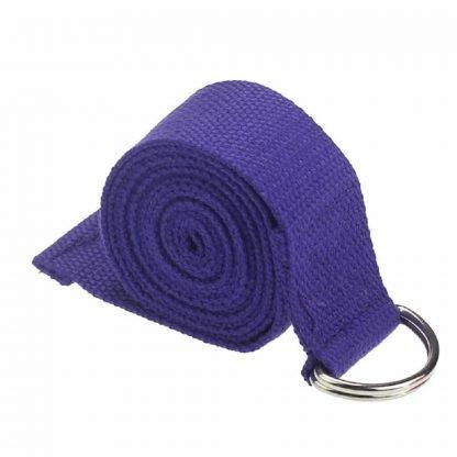 cinturón yoga morado