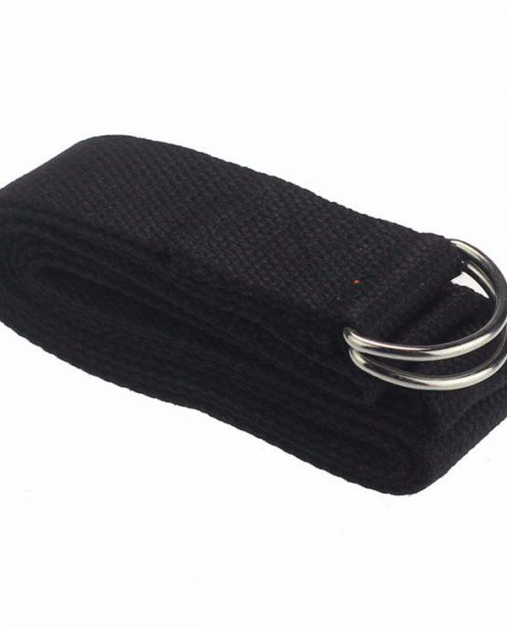 cinturón yoga negro