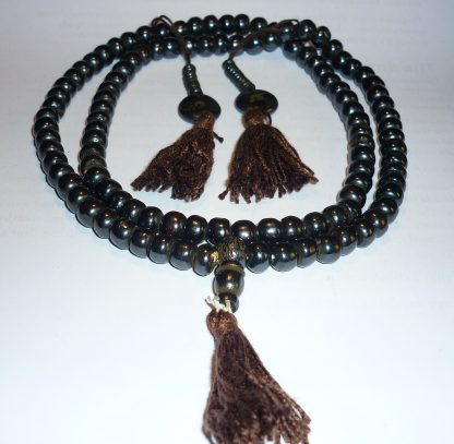 mala yapa rosario tibetano hueso negro