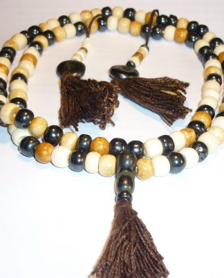 yapa mala rosario tibetano hueso