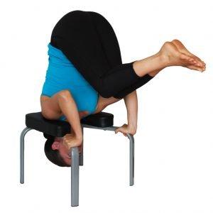 Banco inversor yoga para posturas de yoga invertidas for Sillas plegables para yoga