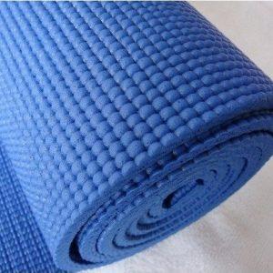 esterilla yoga azul