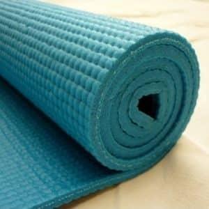 esterilla yoga turquesa
