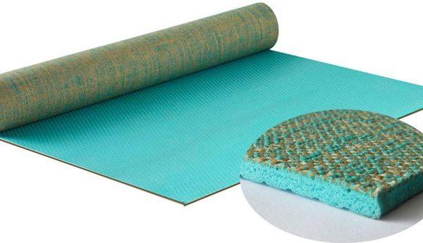 esterilla yoga yute