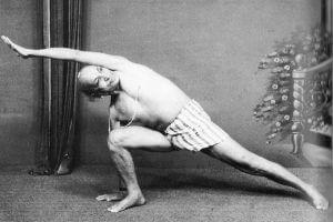 foto postura de yoga