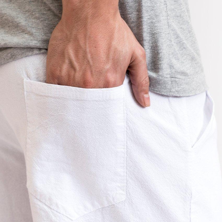 pantalón de algodón para casa
