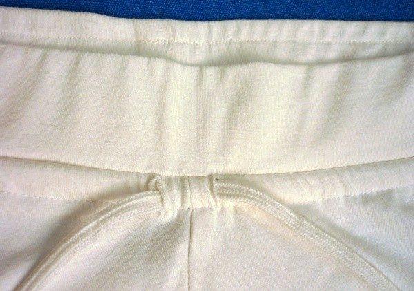 pantalón yoga blanco