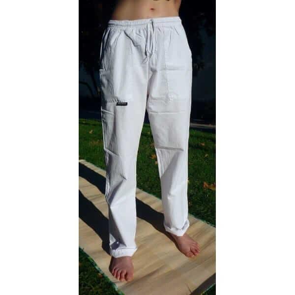 Pantalon Yoga Blanco Pantalones De Yoga Blancos Algodon
