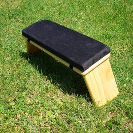 banco meditación negro