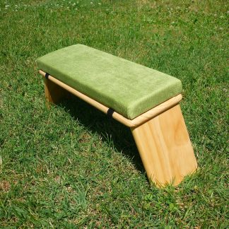 banco meditacion verde