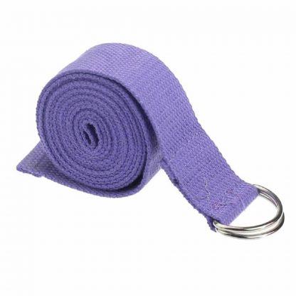cinturón yoga lavanda