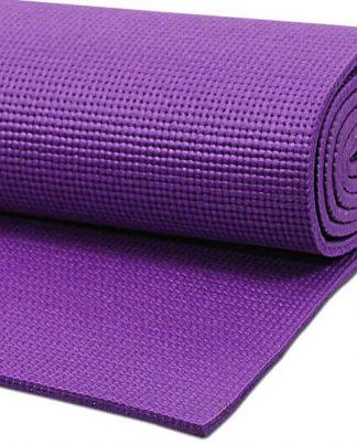 esterilla yoga violeta