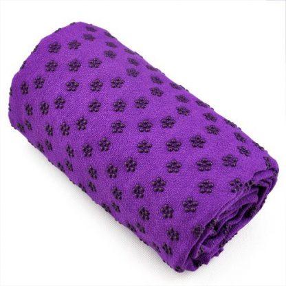 toalla yoga violeta