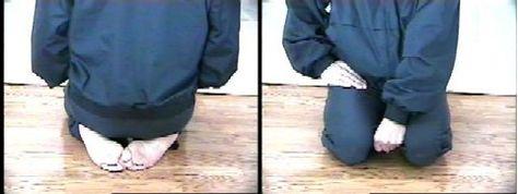 postura seiza para meditar con banco de meditación