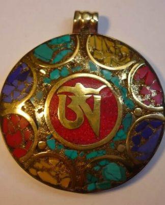 Colgantes / amuletos procedentes de la India/Tíbet/Nepal