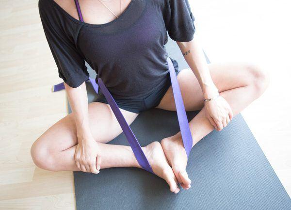 Cinturón yoga (correa yoga)