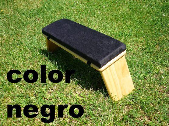 banco de meditacion color negro