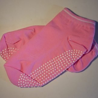 calcetines yoga rosa