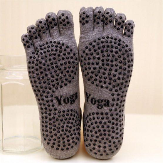 calcetines de yoga