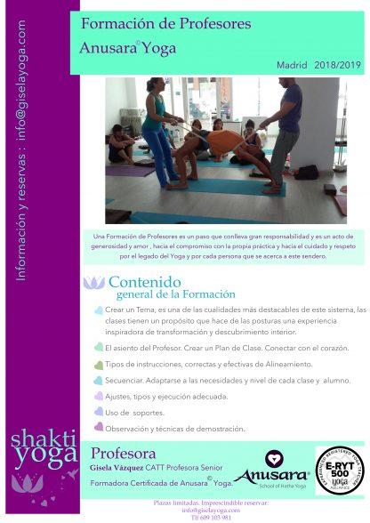 Curso Monitor de Yoga en Madrid   Formación Profesor de Yoga en ... 90ffb71b4169