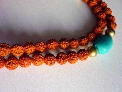 mala rosario tibetano rudraksha