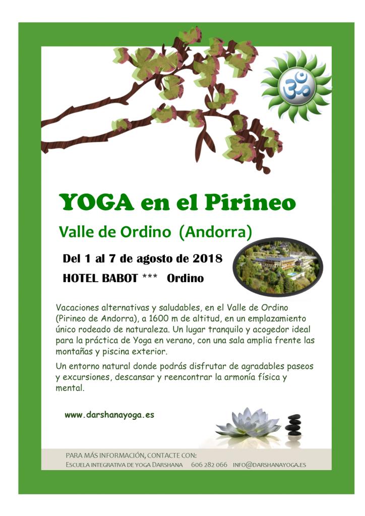 retiro de yoga en Andorra