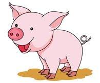 cerdo amuleto de la suerte