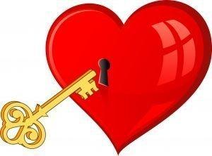 corazon amuleto de la suerte