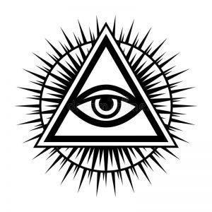 ojo de la providencia amuleto de la suerte