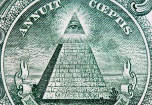 ojo que todo lo ve en el billete de un dólar