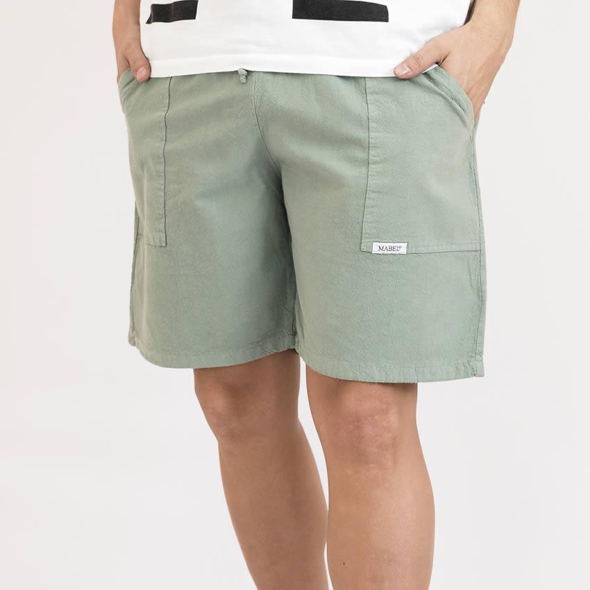 pantalones cortos unisex de algodón
