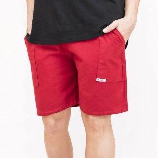 pantalon algodon rojo