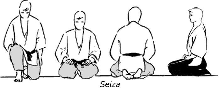 meditando postura seiza
