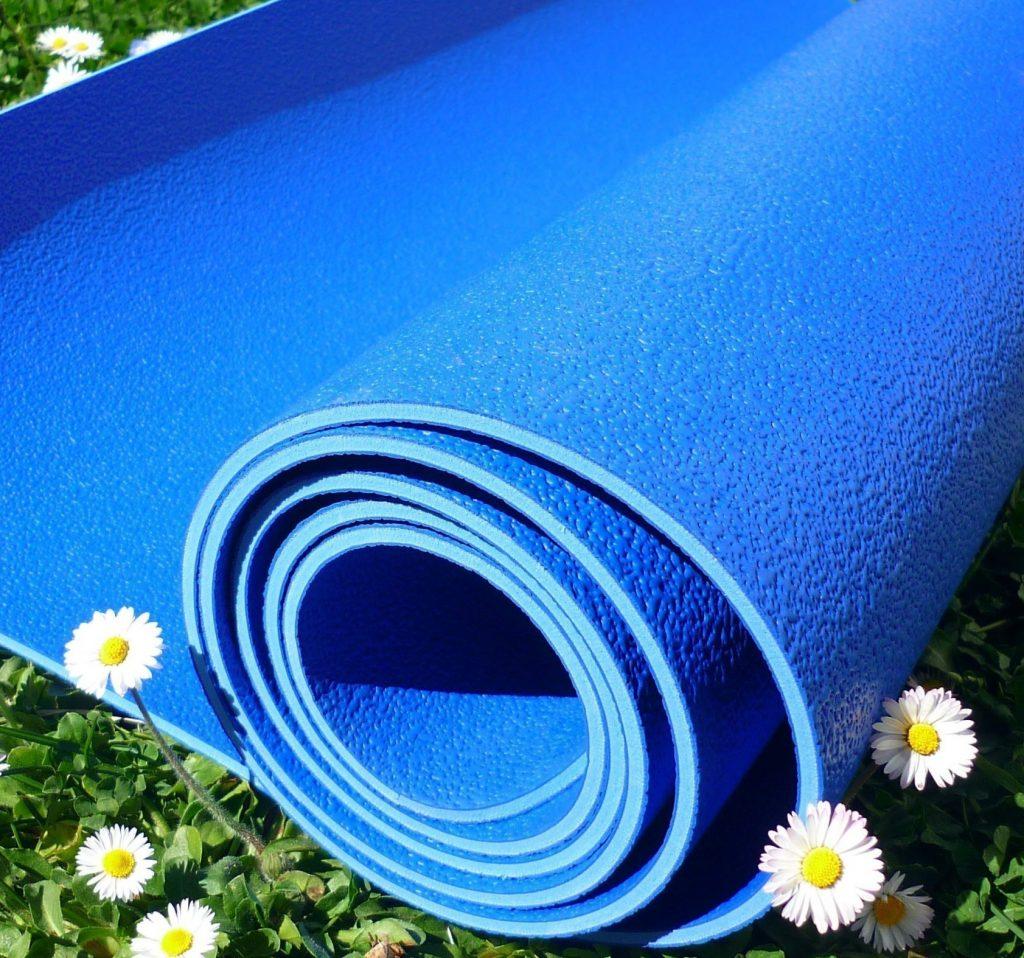 esterilla yoga caucho natural o latex