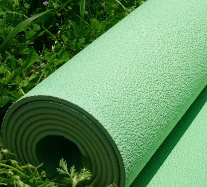 esterilla yoga caucho natural verde claro