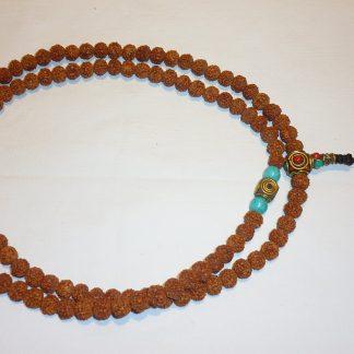 japa mala rosario tibetano rosario budista rudraksa