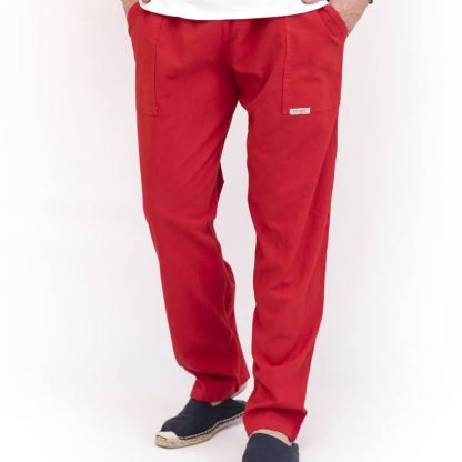 pantalon yoga rojo