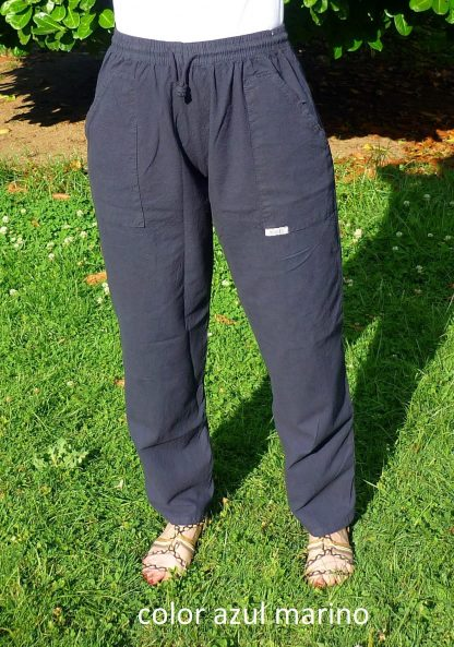 pantalón pintor azul marino
