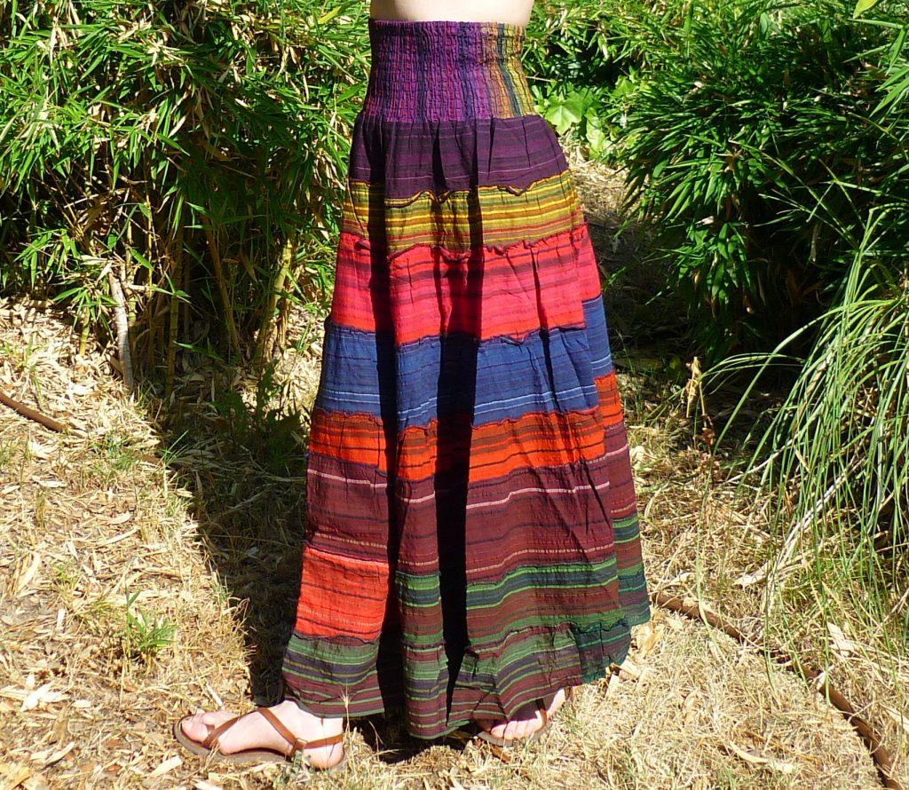 falda aldogón hecha en India