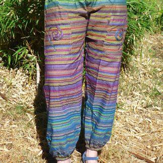Pantalón mujer algodón 100% India