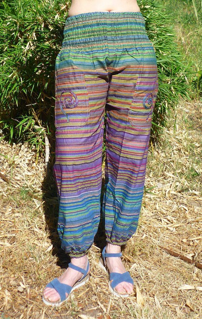 pantalón algodón hecho en India