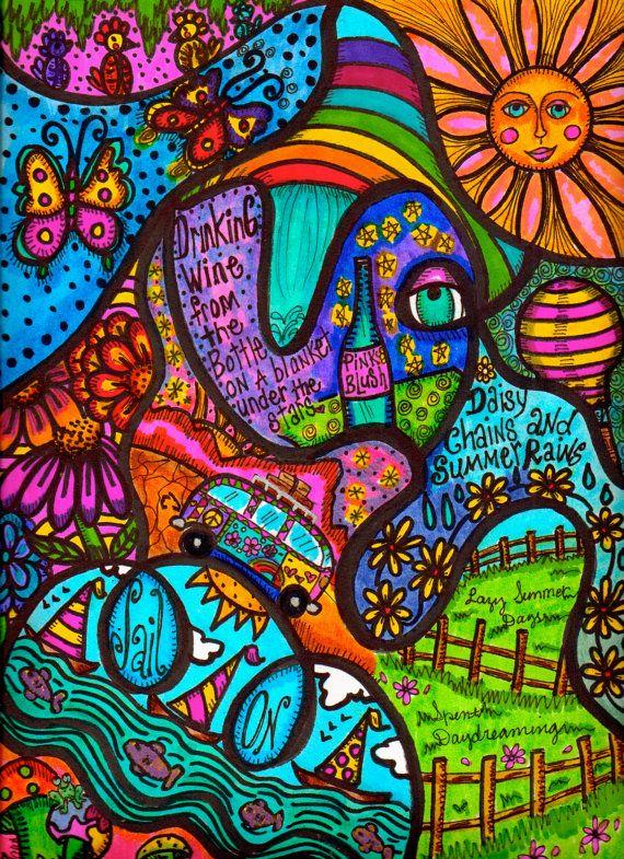Arte de inspiración psicodélica