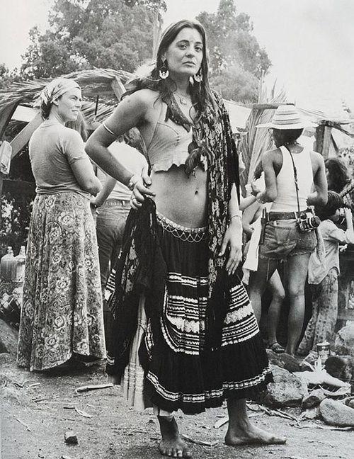 ropa hippie inspirada en los gitanos