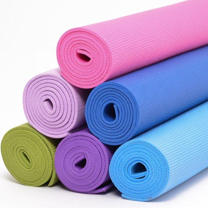 esterilla de yoga de pvc